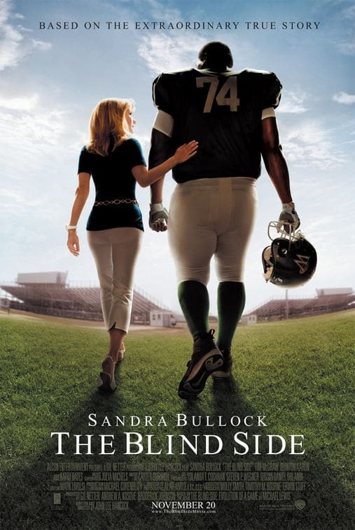 Blind Side poster Michael Oher best Football Movies.