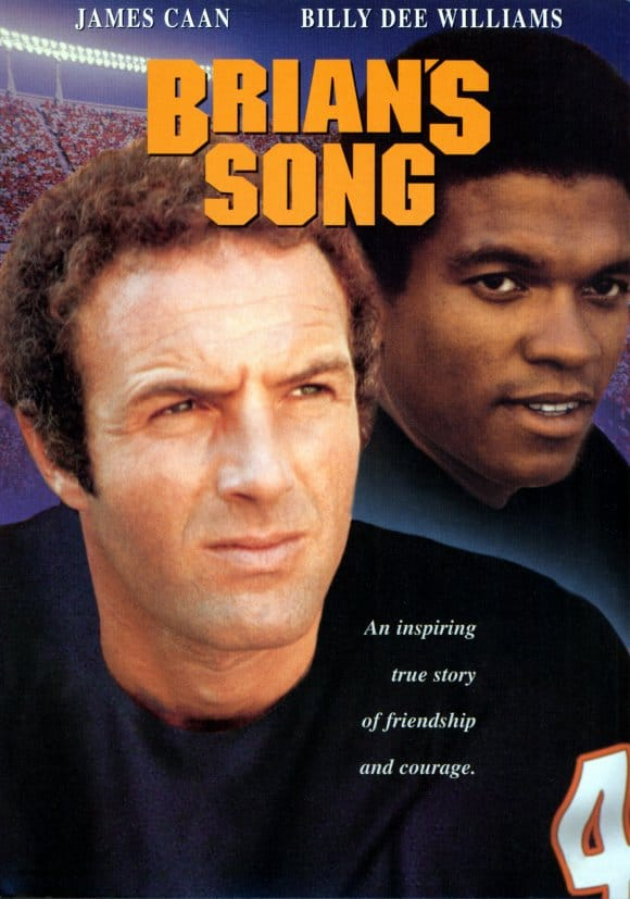 brian's song poster james caan best football movies