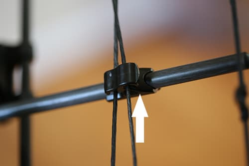 compound bow cable slide parts and anatomy