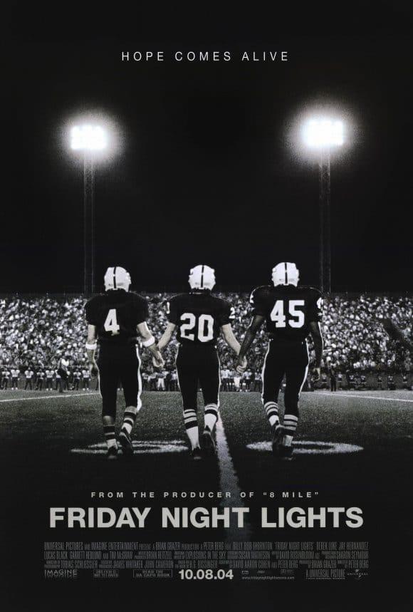 friday Night Lights Movie Poster best Football films.