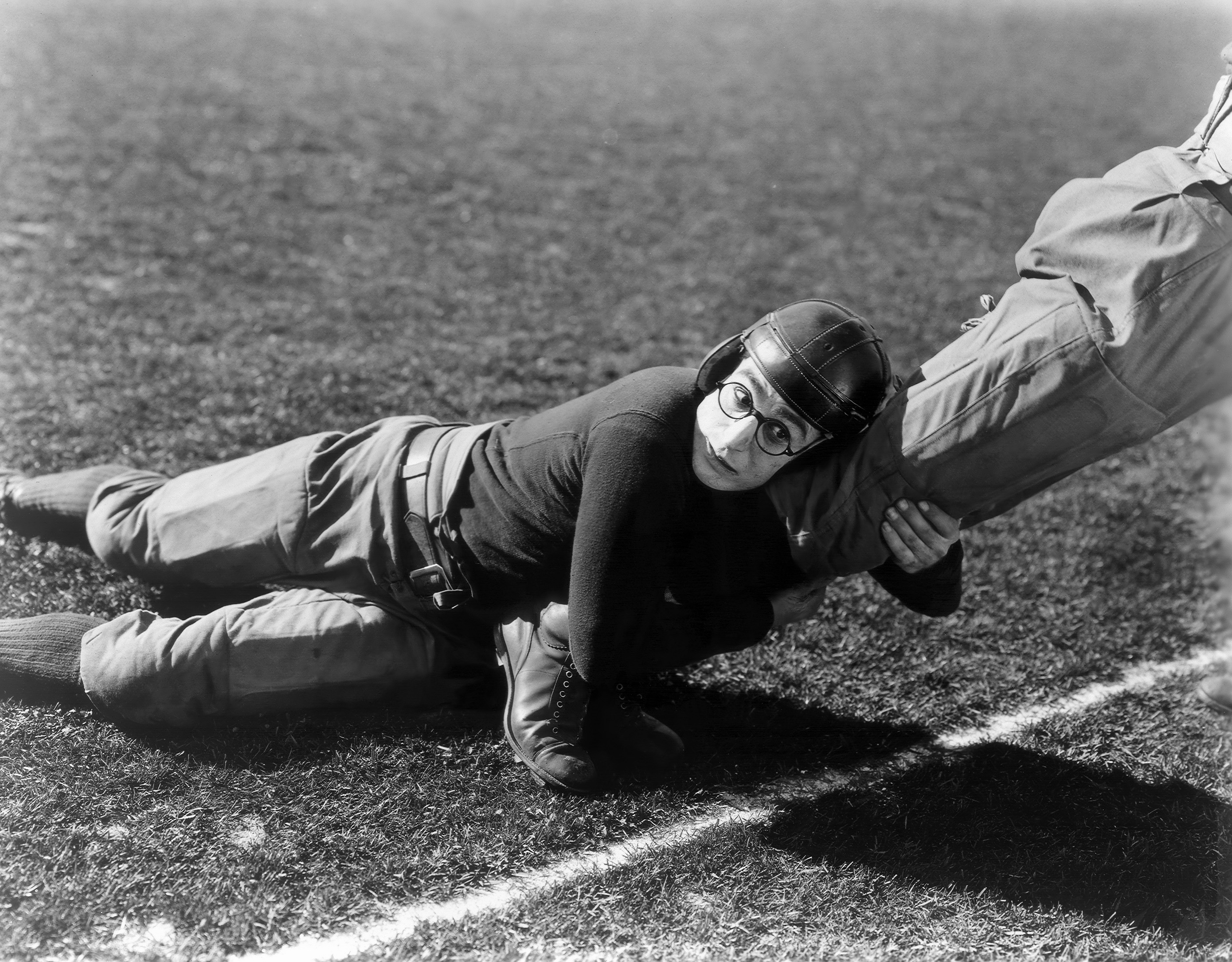 Harold Lloyd Freshman silent Film best Football Movies.