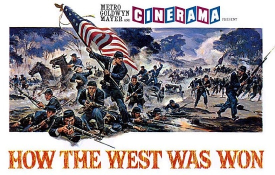 how the west was won movie poster