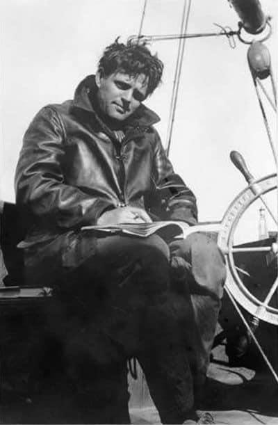 jack london writing ship