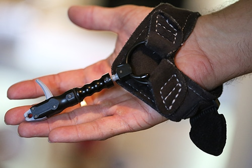 compound bow parts mechanical release trigger wrist strap