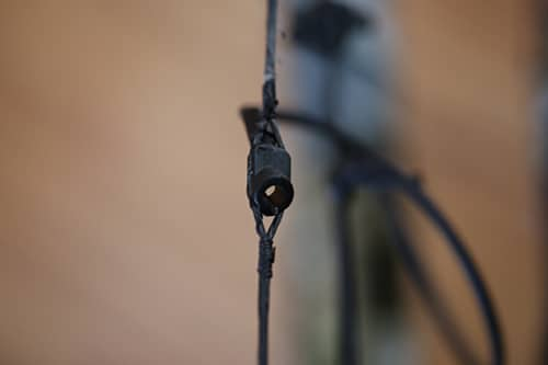 compound bow parts peep sight