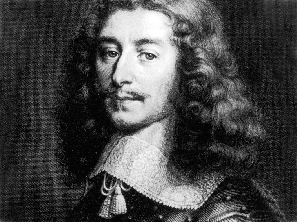 Francis de la Rouchefocauld Portrait black white.
