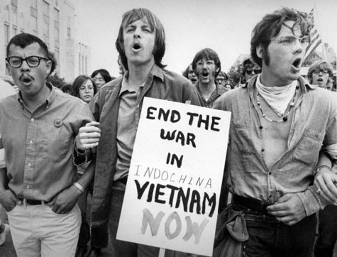vietnam war protest march rally 1960s 1970s