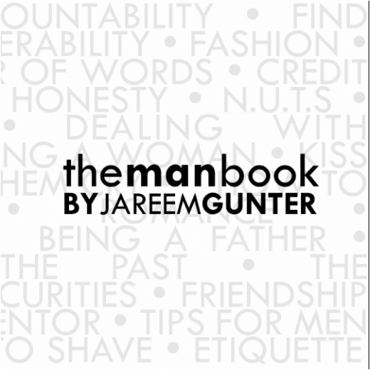 the man book cover by jareem gunter