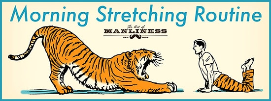 morning stretching routine for energy and strength