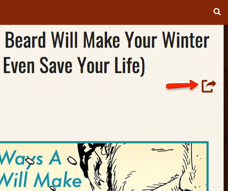 The Art of Manliness Header, Beard will make your winter.
