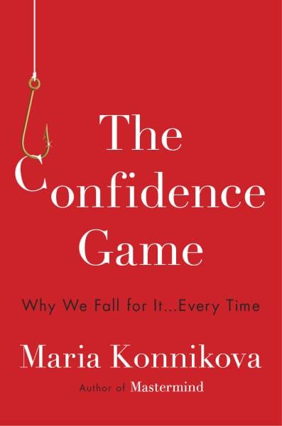 confidence game book cover maria konnikova