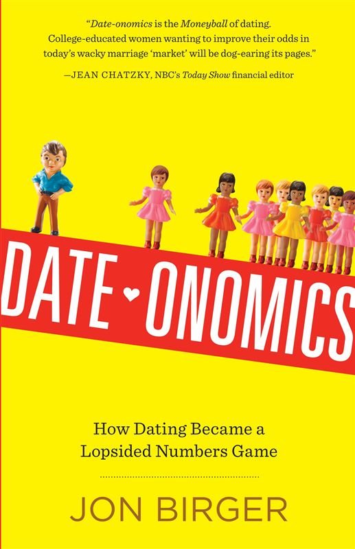 Book cover, date onomics by Jon Birger.