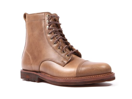 rancourt knox shoe brown leather boot