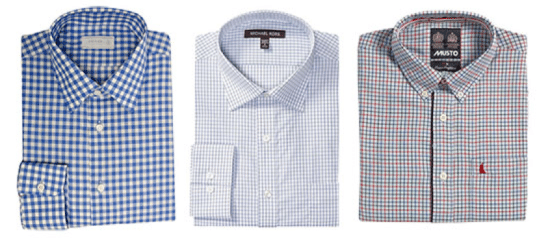 shirt patterns gingham graph checks tattersall