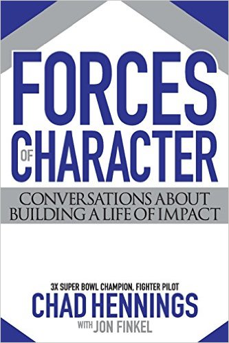 forces of character book cover chad hennings author
