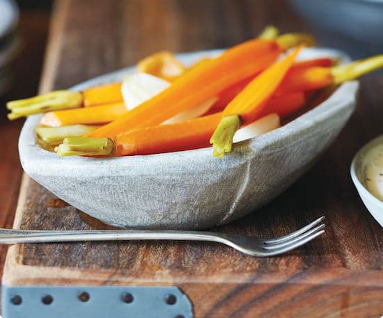 Spicy Sweet Pickled Carrots