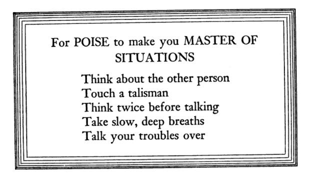 Quote about master of situations.