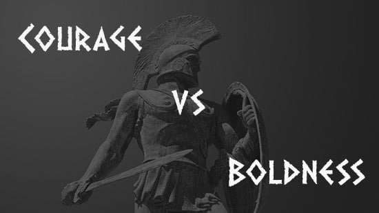 courage boldness spartan warrior statue