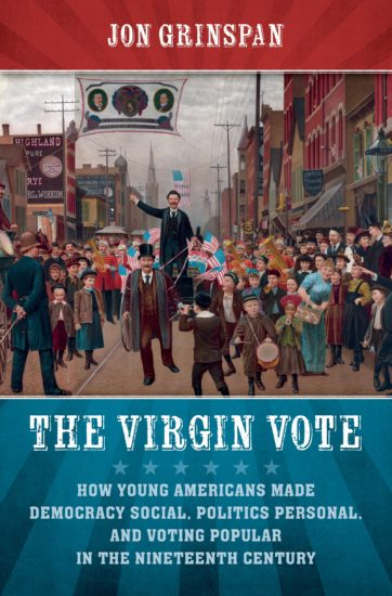 virgin vote book cover image jon grinspan