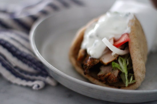 homemade authentic greek gyro