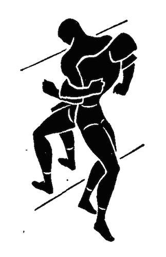 wwii strength and conditioning exercises back to back tug illustration