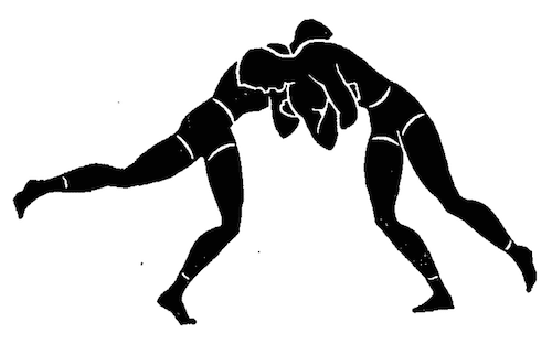 wwii strength and conditioning exercises rooster fight illustration