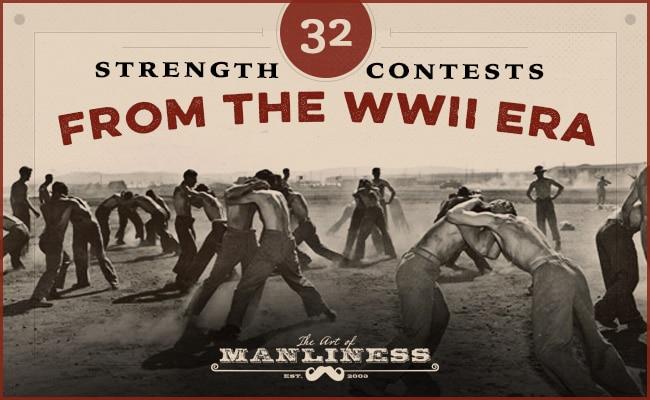vintage soldiers wrestling basic training exercises