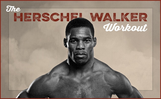 herschel walker workout fitness routine and philosophy