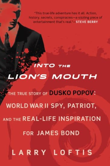 into the lion's mouth book cover larry lofts