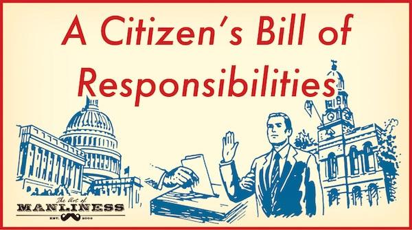 citizen's responsibilities illustration