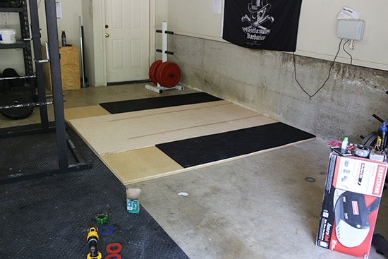 How to build a weightlifting platform catalog