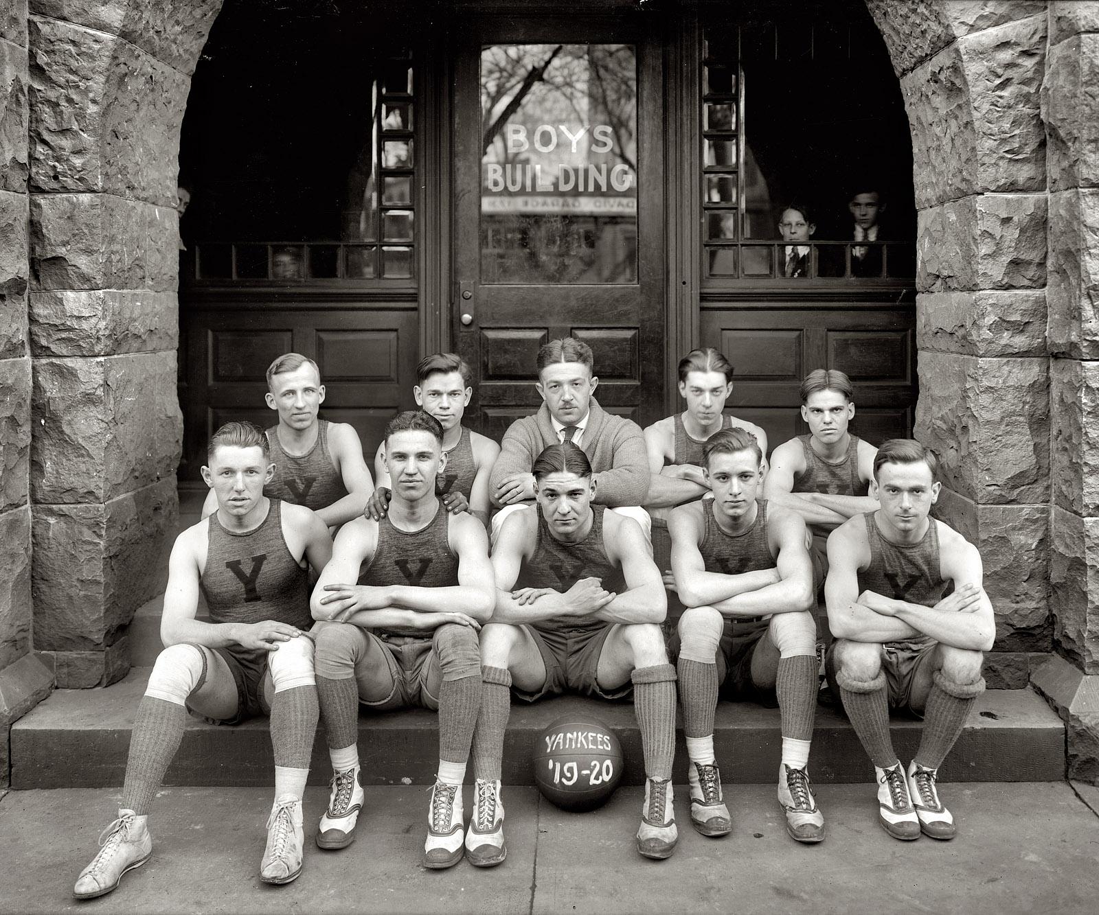 Vintage Football Team.
