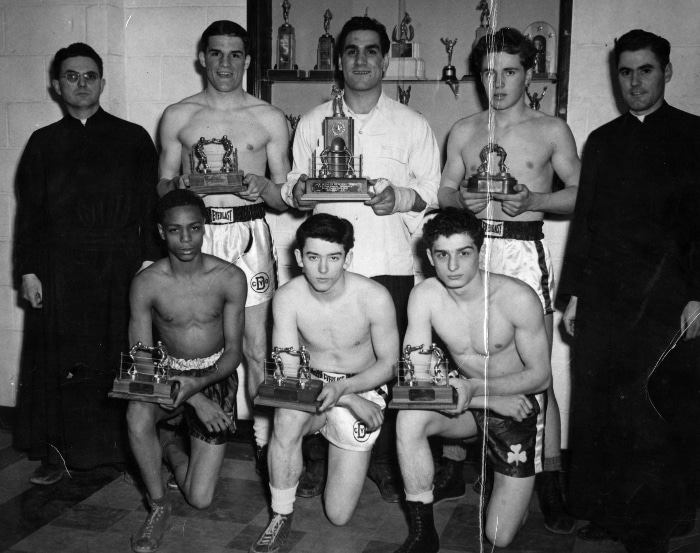 Vintage Muscular Christianity Boys and Men With Trophies.