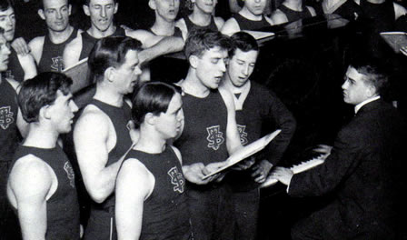 Vintage MC Men singing.