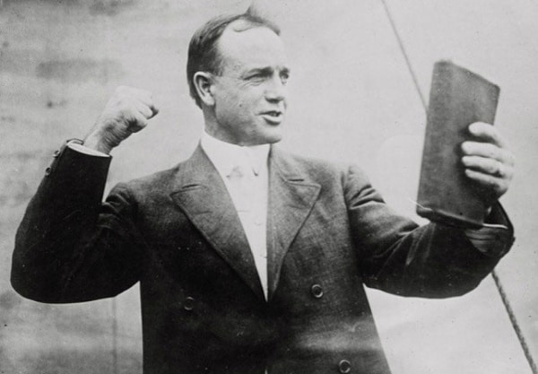 Vintage Preacher Billy Sunday.