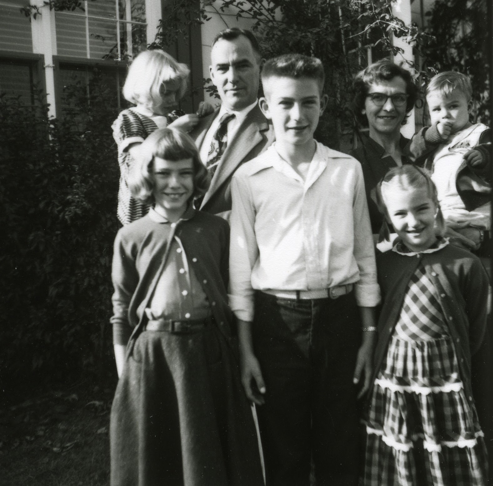 Vintage William M. with his Family.