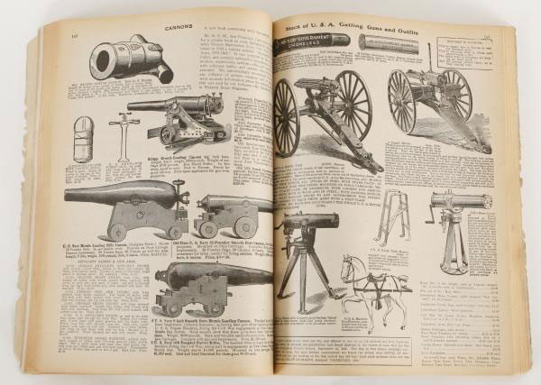 bannerman's army navy surplus catalog gatling guns cannons