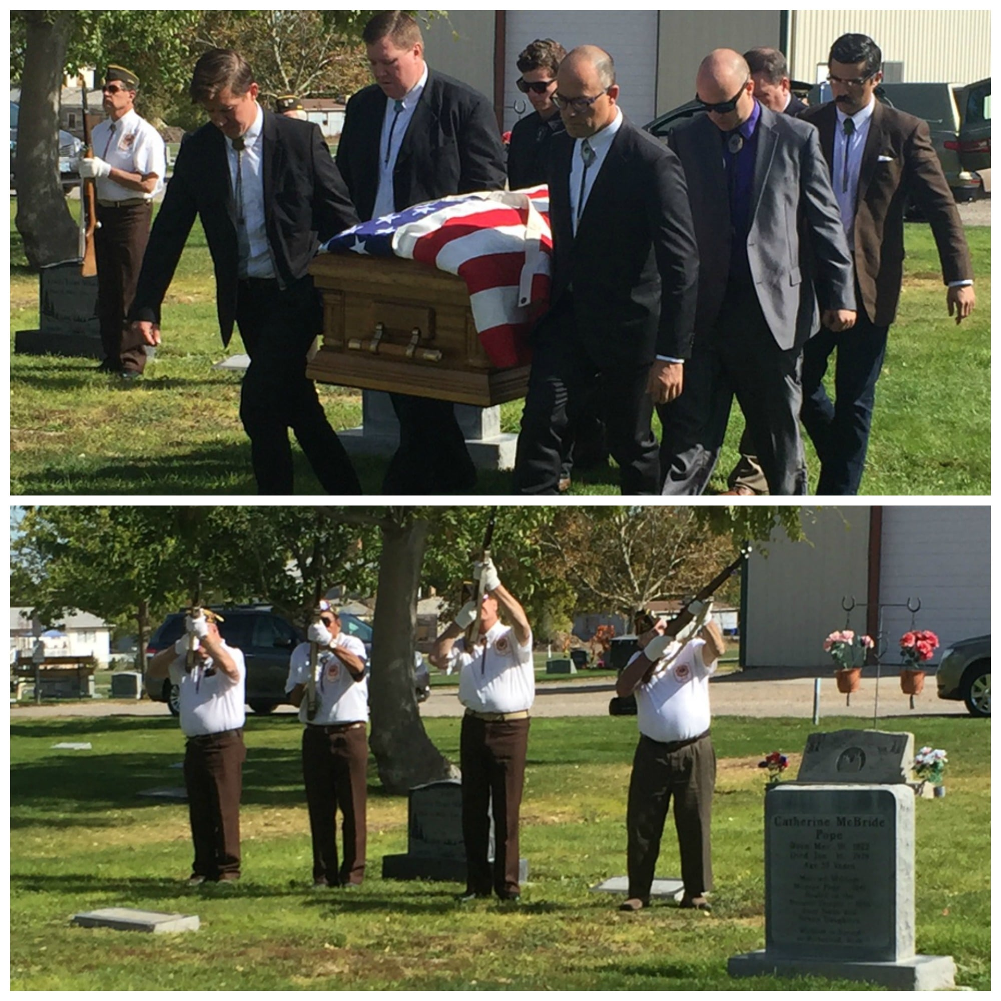 William M. funeral.