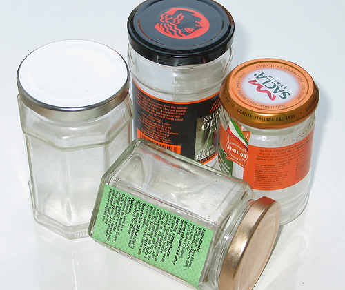 Collections of Jars.