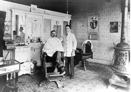 Barbershops: Clean Shave, Sharp Haircut | The Art of Manliness