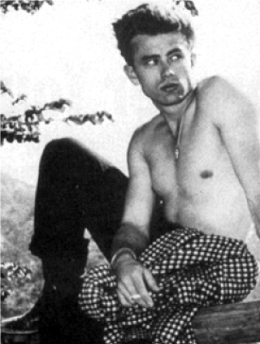 james dean shirtless