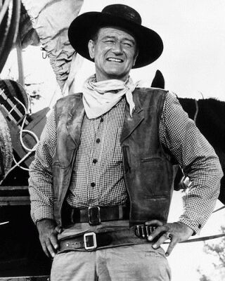 john wayne western outfit