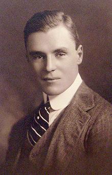 Vintage men wearing suit portrait.