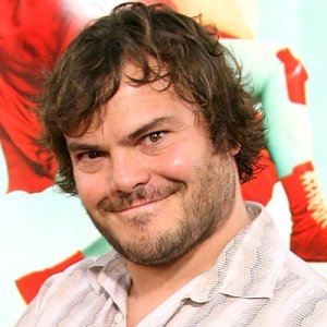 Jack Black portrait.