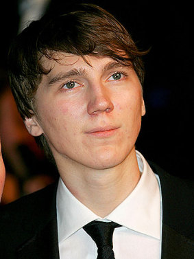 Paul Dano portrait.