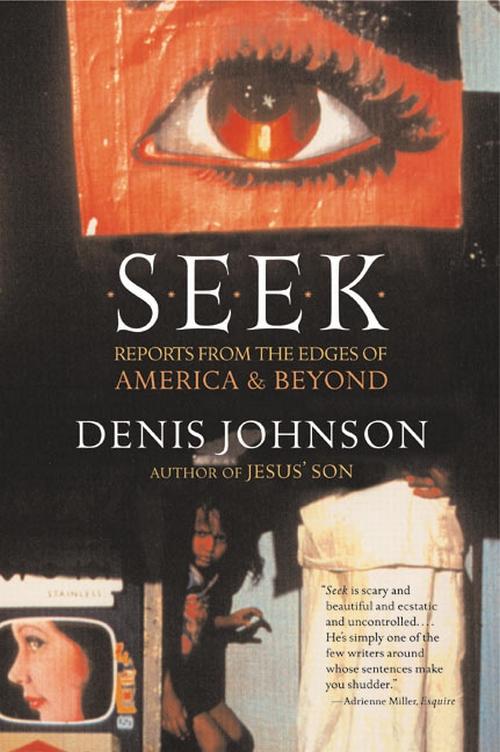 Seek by Denis Johnson, book cover.