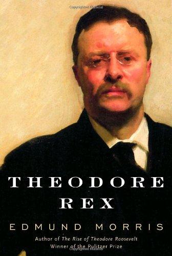 Theodore Rex by Edmund Morris, book cover.