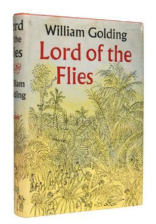 Lord of the flies by William Golding book cover.