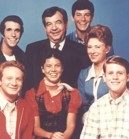 happy days tv show cast photo