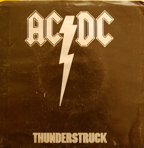 ac dc thunderstruck song cover
